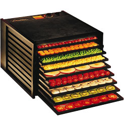 Excalibur 9 Tray Dehydrator 4900B - Black (Without Timer)