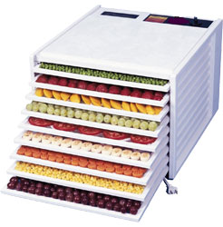Excalibur 9 Tray Dehydrator 4900W - White (Without Timer)