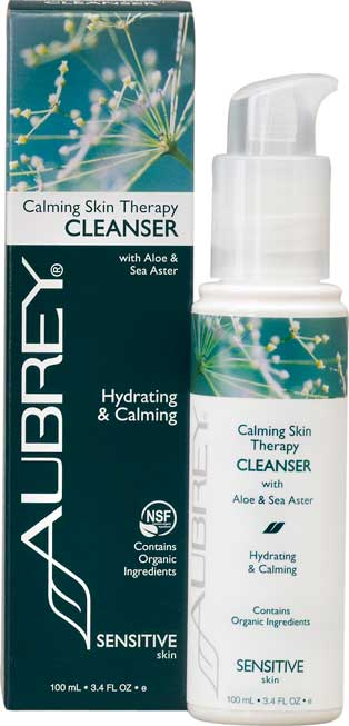 Calming Skin Therapy Cleanser with Aloe & Sea Aster. 100ml.