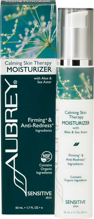 Calming Skin Therapy Moisturiser with Aloe & Sea Aster. 50ml.