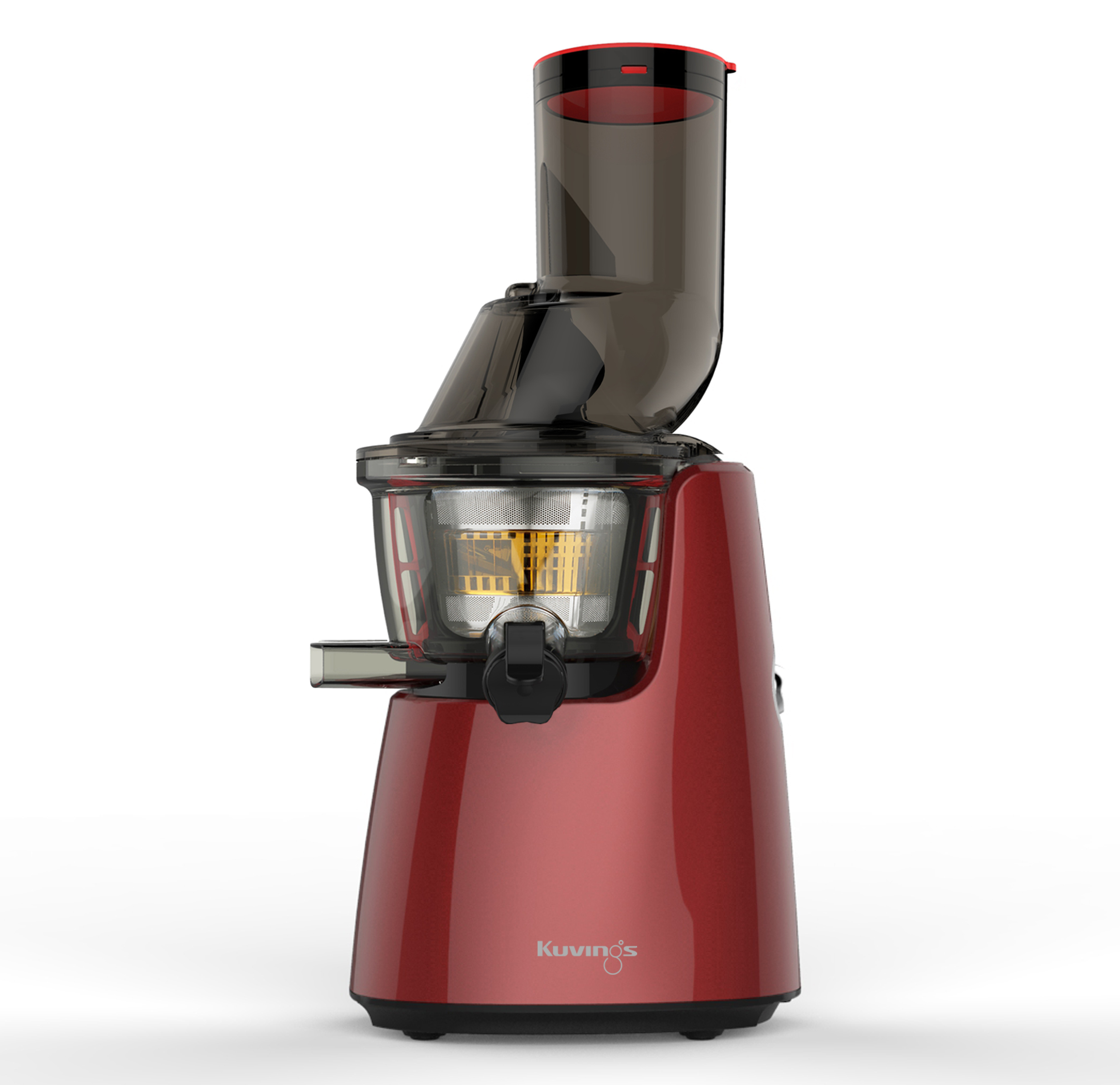 "Kuvings® WHOLE Slow Cold Press Juicer C7000 - ""Dark Red"" - FREE DELIVERY"