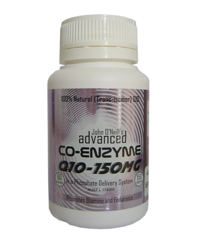 Co-Enzyme Q10 150mg by Advanced Nutrition.