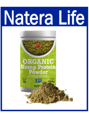 Hemp Protein Powder - Organic. 400gm.