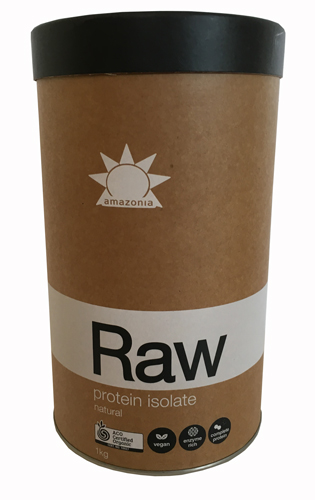 RAW Protein Isolate. Natural. 1kg.