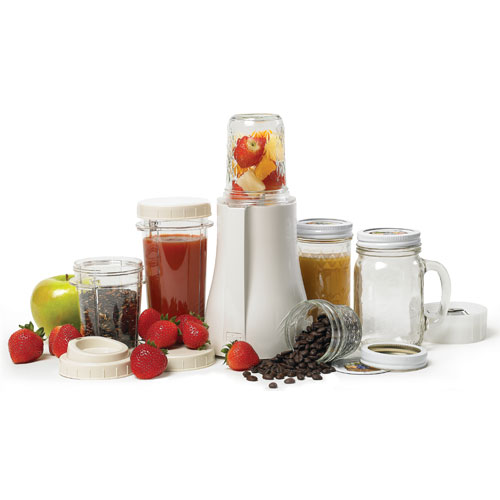 Tribest Personal Blender with Mason Jars. PB350.