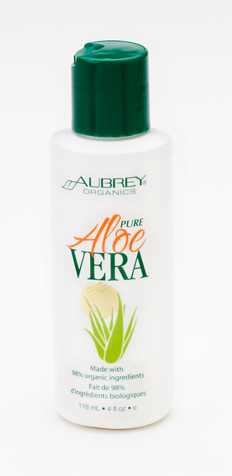 100% Pure & Certified Organic Aloe Vera Gel. 118ml.