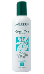 Green Tea & Ginko Facial Cleansing Lotion. 118ml.