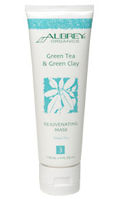 Green Tea & Green Clay Rejuvenating Mask. 118ml.