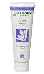 Natural Herbal Seaclay with Goa Herb Oil Balancing Mask. 118ml.