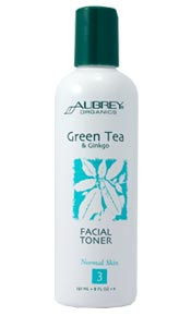 Green Tea & Gingko Facial Toner. 236ml.