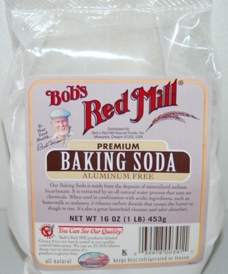 Bob's Red Mill Baking Soda (Aluminium Free). 453gm.