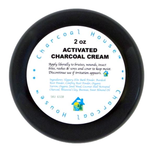 Charcoal Activated Drawing Cream. 57gm.