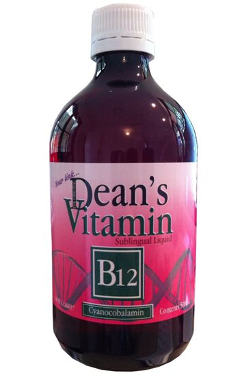 Dean's B12 Oral Sub-Lingual Liquid. 500ml.