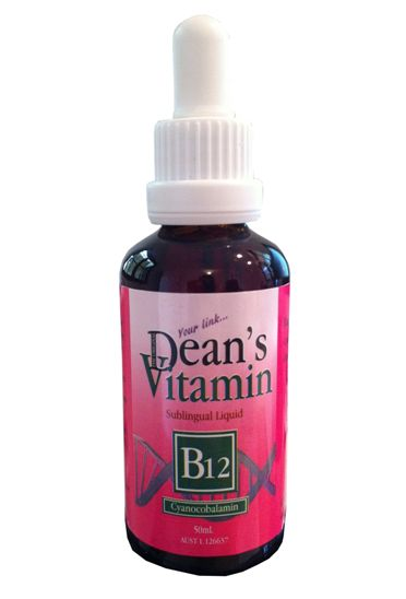 Dean's B12 Oral Sub-Lingual Liquid. 50ml.