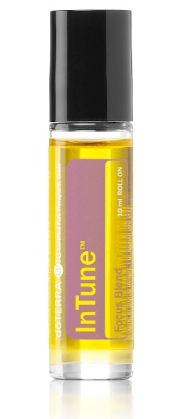 InTune Roll On. Focus Blend. 10ml.