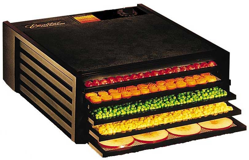 Excalibur 5 Tray Dehydrator 4500B - Black (Without Timer)