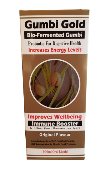 Gumbi Gold 200ml - Bio Fermented Gumbi - Probiotic