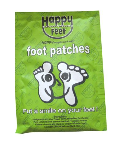 Happy Feet Detox Patches. 1 Pair.