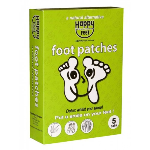 Happy Feet Detox Patches. (Box of 5 Pair).