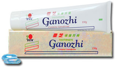 Ganozhi Toothpaste containing Ganoderma (Lingzhi). 150gm.