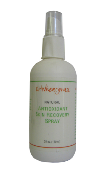 Dr. Wheatgrass Antioxidant Skin Recovery Spray. 150ml.