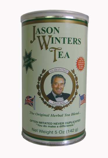 Jason Winters Tea 142g. Original Herbal Tea Blend with Chaparral
