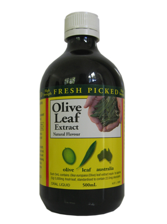 Olive Leaf Extract - High Strength, Natural Flavour 500ml.