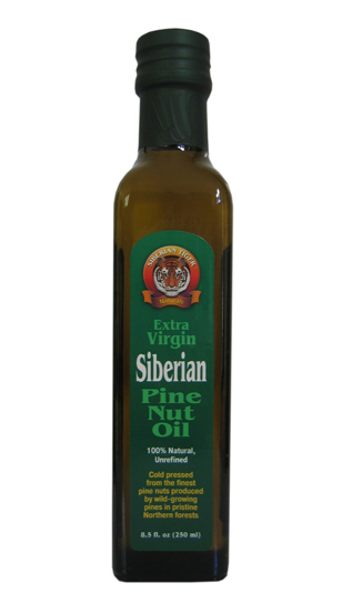 Pine Nut Oil. Siberian Tiger Natural. (Cold Pressed). 250ml.