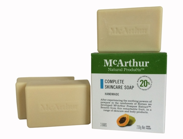 McArthur Complete Skincare Soap. 3 Pack.
