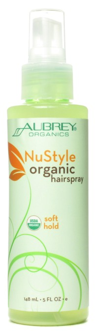 NuStyle Organic Hairspray. Soft Hold. 148ml. - Click Image to Close