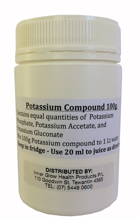 Potassium Compound. 100gm.