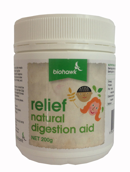 Relief (Zingabain Enzyme Powder). 200gm.