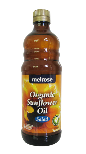 Sunflower Oil. Melrose Organic. 500ml.