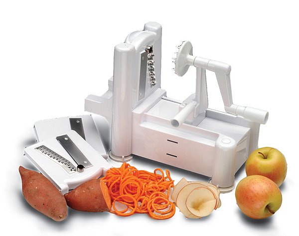 Vegetable Spirooli 3-in-1 Slicer. Vegetable Spaghetti Maker