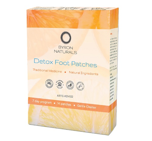 Byron Natural Detox Foot Patches. (Box of 7 Pair).