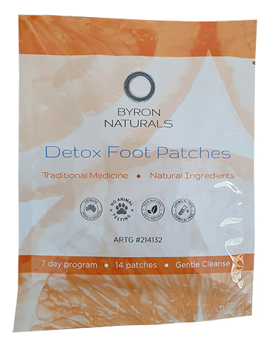 Byron Naturals Detox Foot Patches. 1 Pair.