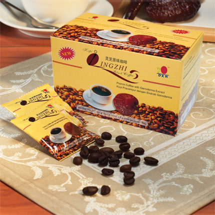 DXN Lingzhi Black Coffee. 20 Sachets.