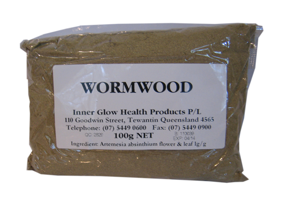 Ground Wormwood Leaves. 100g.