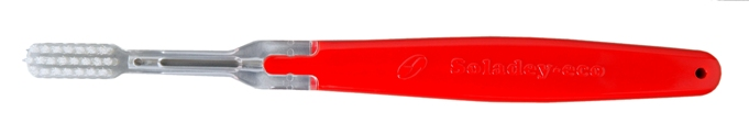 Soladey-Eco Ionic Toothbrush - Red