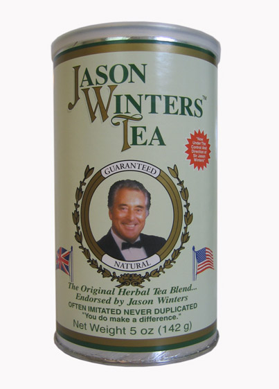 Jason Winters Tea 142g. Original Herbal Tea Blend with Sage