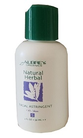 Natural Herbal Facial Astringent - Try-Me-Out. 59ml. - Click Image to Close